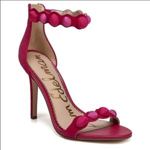 NWOT Sam Edelman Pink Addison Pom Pom Heels - 10